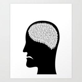 Self less Art Print