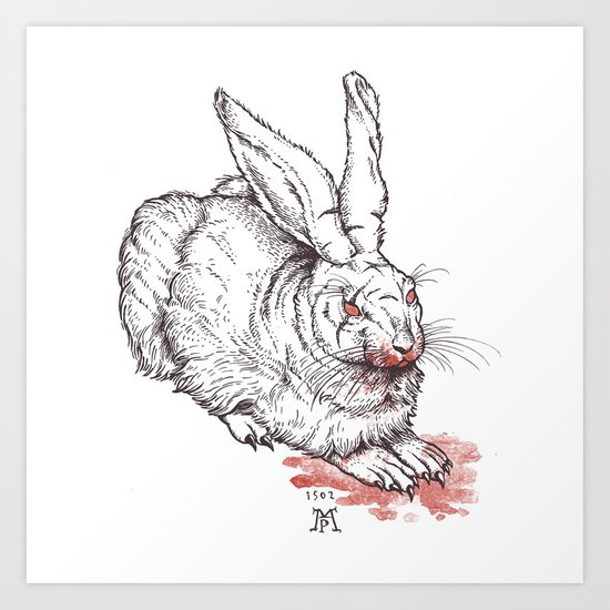 the beast of caerbannog Art Print