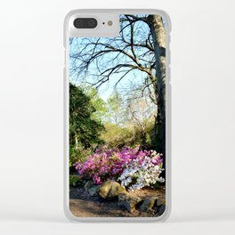 Muscogee (Creek) Nation - Honor Heights Park Azalea Festival, No. 08 of 12 Clear iPhone Case