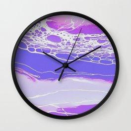 Strung Out on Homemade Art Wall Clock