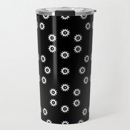 stars 51- black and whitestars 51- black and white Travel Mug