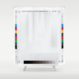 """Print-ready"" file Shower Curtain"