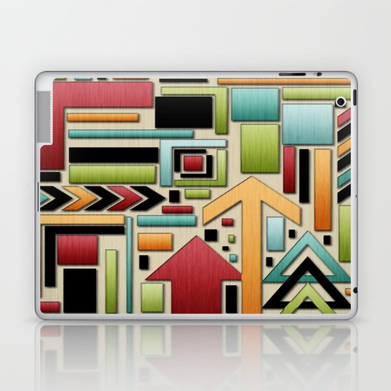 Retro Junk. Laptop & iPad Skin
