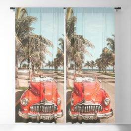 Vintage Car Blackout Curtain