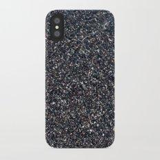 Black Sand I iPhone X Slim Case
