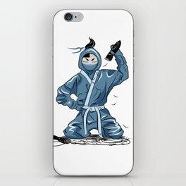 Mr Ninja iPhone Skin