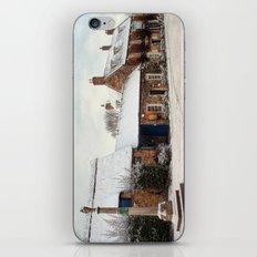 A Village Winter. iPhone & iPod Skin