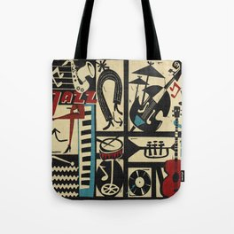 Jazzz Tote Bag