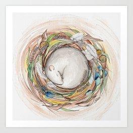 Nest of Treasures Art Print