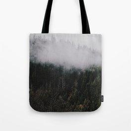 Forest Fog IV Tote Bag