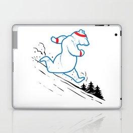 DA BEARS - RUNNING Laptop & iPad Skin