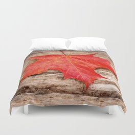 LEAF ME ALONE Duvet Cover