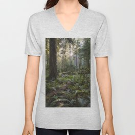 Cathedral Grove Unisex V-Neck