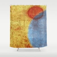 1989 Shower Curtains featuring Neptune by Fernando Vieira