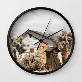 American Scenery Art Print | Route 66  Arizona Photo | Travel Photography Wall Clock