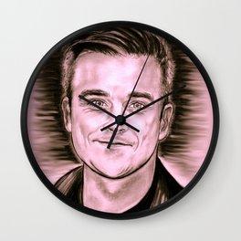 "Robbie ""Candy"" Wall Clock"