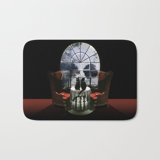 Room Skull Bath Mat