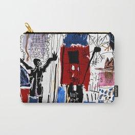 Jean-Michel Basquiat - Obnoxious Liberals , 1982 Carry-All Pouch
