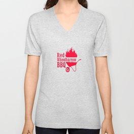 Mr. Robot Red Wheelbarrow BBQ Premium T-Shirt Unisex V-Neck