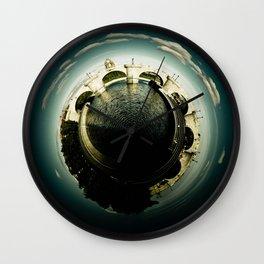 Toledo's Bridge Little Planet Wall Clock