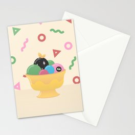 Please, Don't Choose Me Stationery Cards