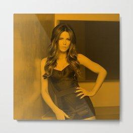 Kate Beckinsale Metal Print