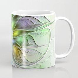 Colors Make My Day, Abstract Fractal Art Coffee Mug