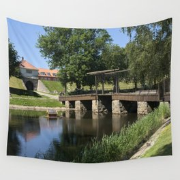 Old City Fredrikstad, Norway Wall Tapestry