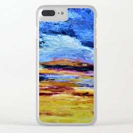 Breaking Sunset Clear iPhone Case