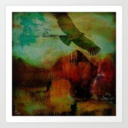 El condor Pasa Art Print