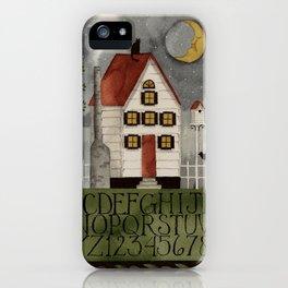 Moonlight Sampler iPhone Case