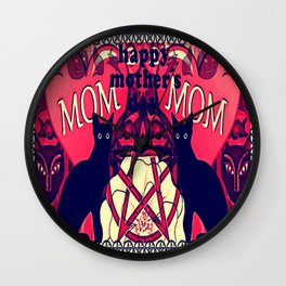 MOTHER'S DAY/WITCHY VERSION Wall Clock