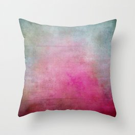 Colorful Vintage Paper Texture Throw Pillow