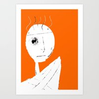 clockwork orange Art Prints featuring Clockwork Orange by Defedia