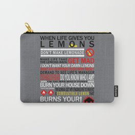 Combustible Lemons Carry-All Pouch