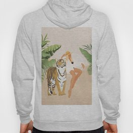 The Lady and the Tiger Hoody
