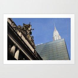 Old vs New - NYC Art Print