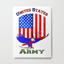 US Army Metal Print