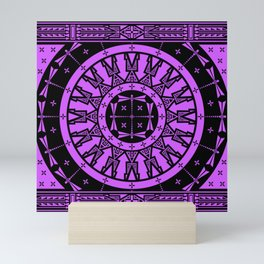 Ancestors (Black Lavender) Mini Art Print