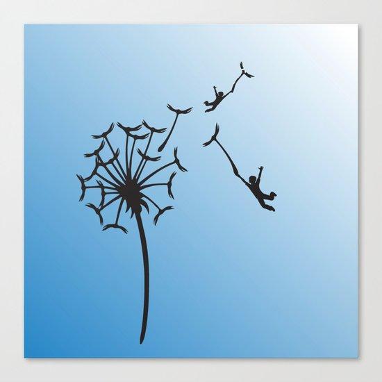 Dandelion Children Canvas Print