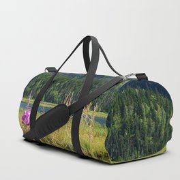 July at Tern Lake - II Duffle Bag
