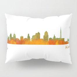 Kansas City Skyline Hq v1 Pillow Sham