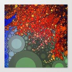 Happy - Tangerine Canvas Print