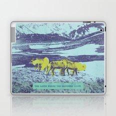 The Lands Where the Reindeer Graze Laptop & iPad Skin