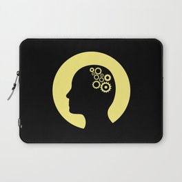 Cogs in the brain Laptop Sleeve