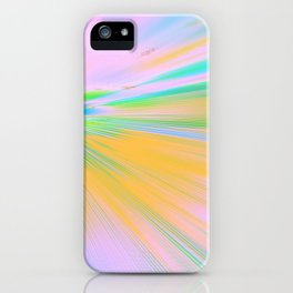 Re-Created Rapture 5 by Robert S. Lee iPhone Case