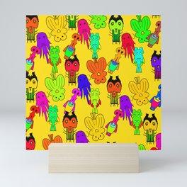 Yellow Clown Mini Art Print