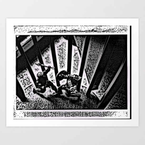 The Battle Art Print