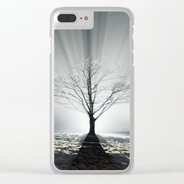 Rays of Fog Clear iPhone Case