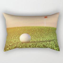 Golfing Rectangular Pillow